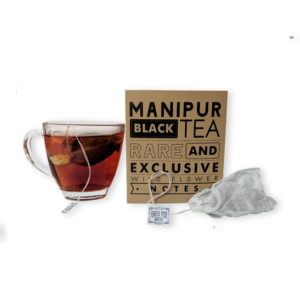 Manipur Black Tea Cotton Bags