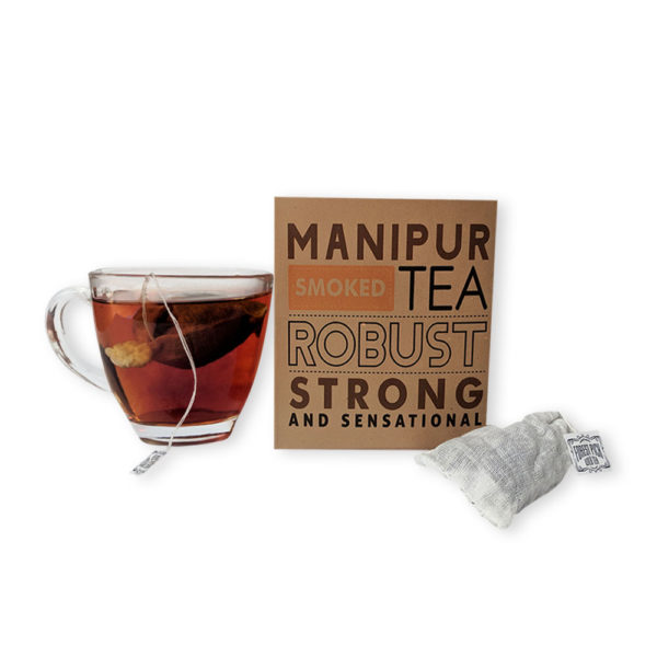 Manipur Smoked Tea Cotton Bags